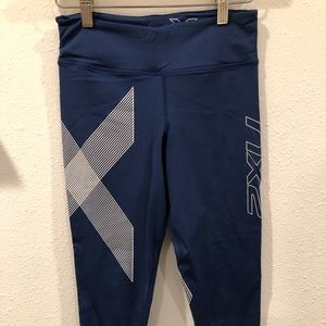 2XU compression tights 7/8 length